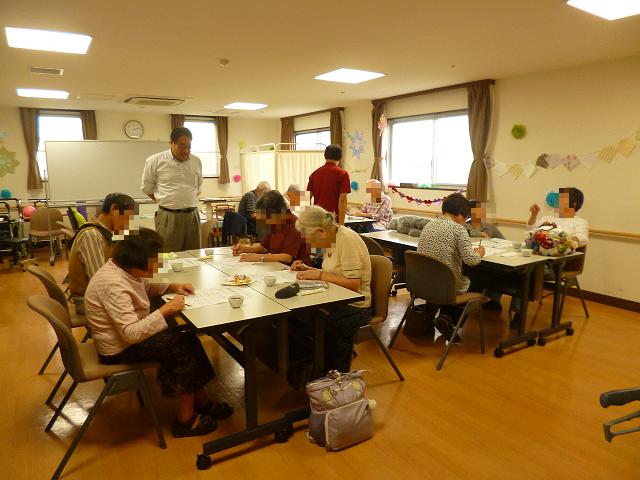 10月11日 認知症カフェ開催しました。